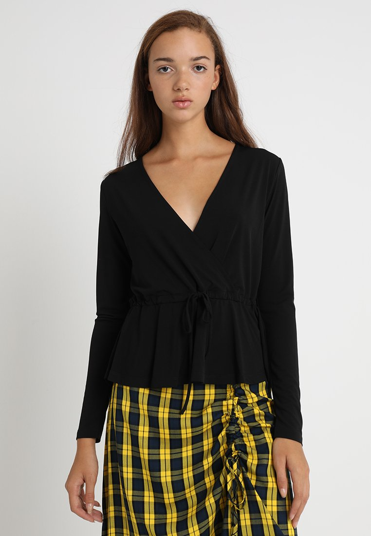 Envii - ENSTEEL TEE - Long sleeved top - black