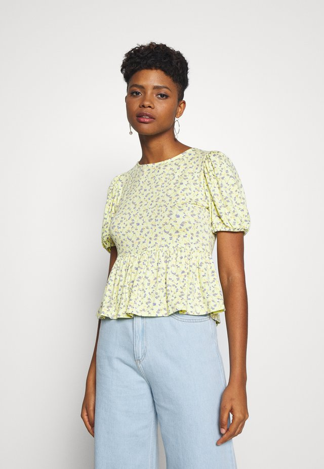 ENMANON TEE - Print T-shirt - multi coloured