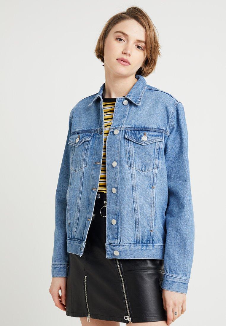 Envii - ENSETTLER JACKET - Denim jacket - mid blue