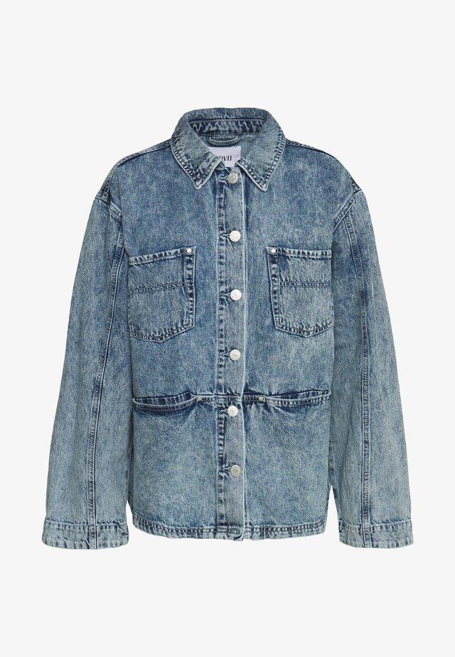 ENBASH - Denim jacket - acid blue