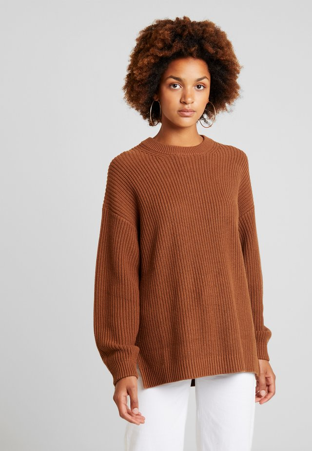ENDIEGO LONG  - Pullover - toffee