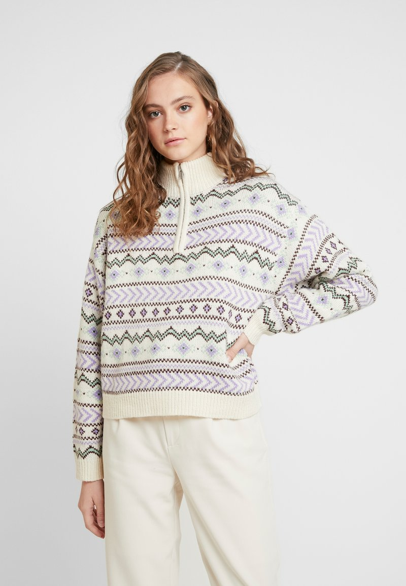Envii - ENOLWEN ZIP - Jumper - multi-coloured