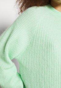 Envii - Svetr - green ash melange - 4