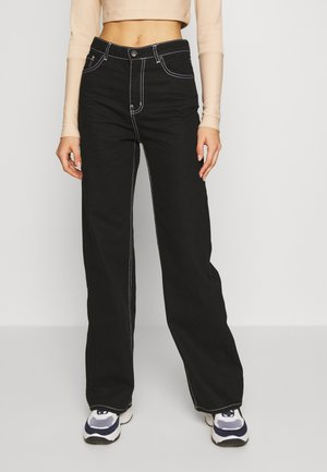 ENBREE - Jeans relaxed fit - black