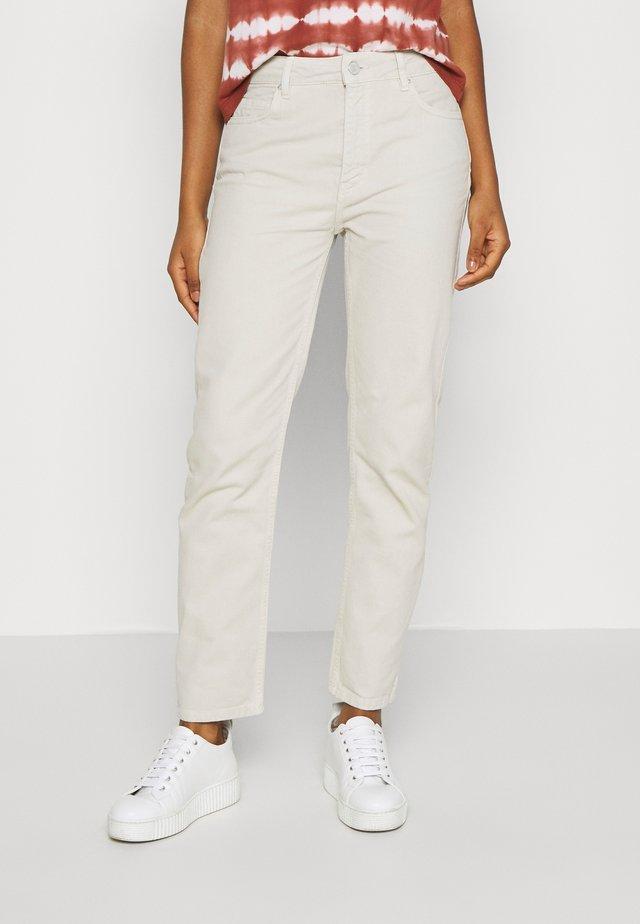 BRENDA - Jeans Straight Leg - silver birch