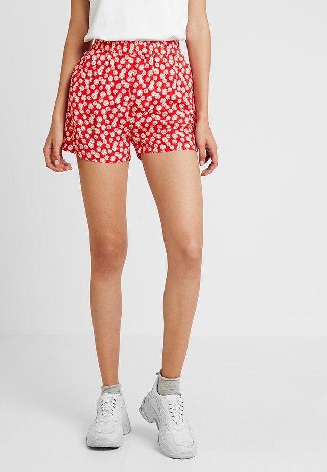 ENMIAMI - Shorts - red daisy