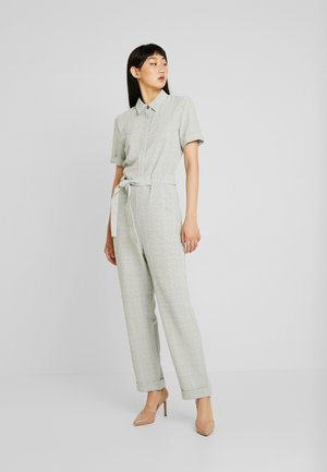 Jumpsuit - sage check