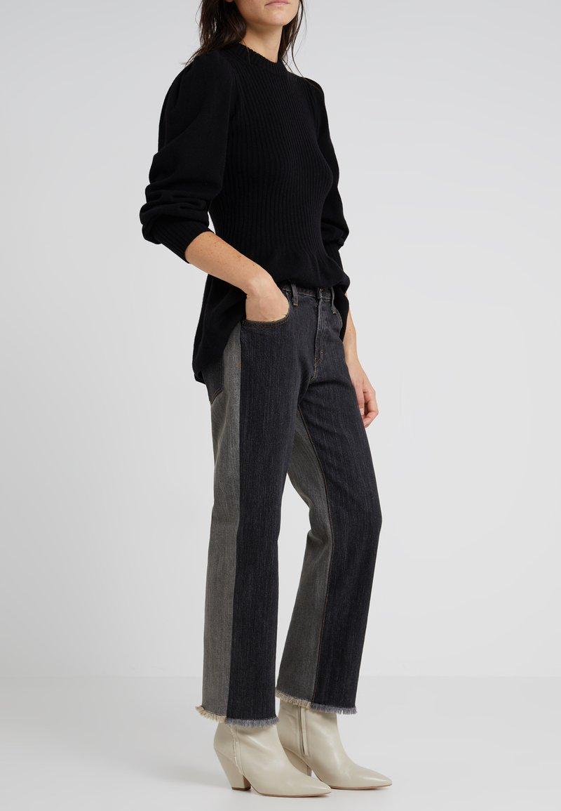 Elizabeth and James - HOLDEN - Jeans Straight Leg - washed black denim