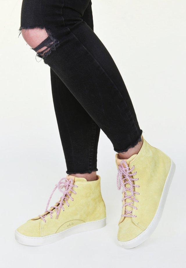 HIGH LEMON - High-top trainers - yellow