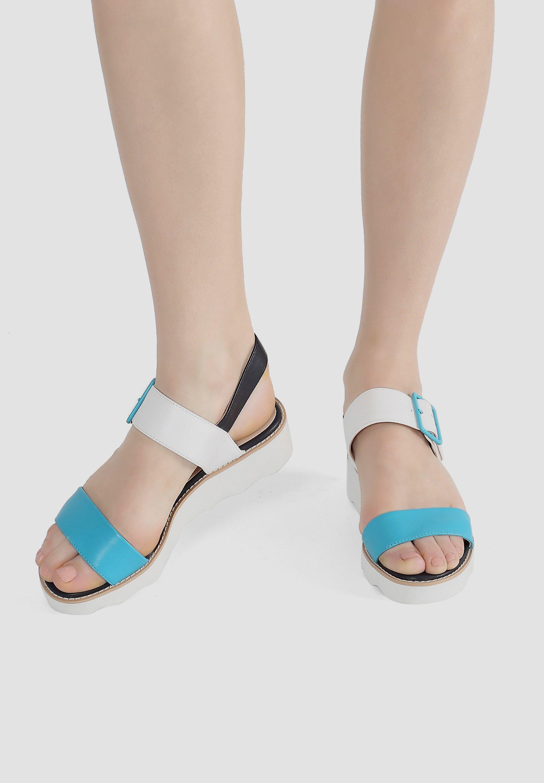 Multi gekleurde Dames sandalen online kopen   Gratis