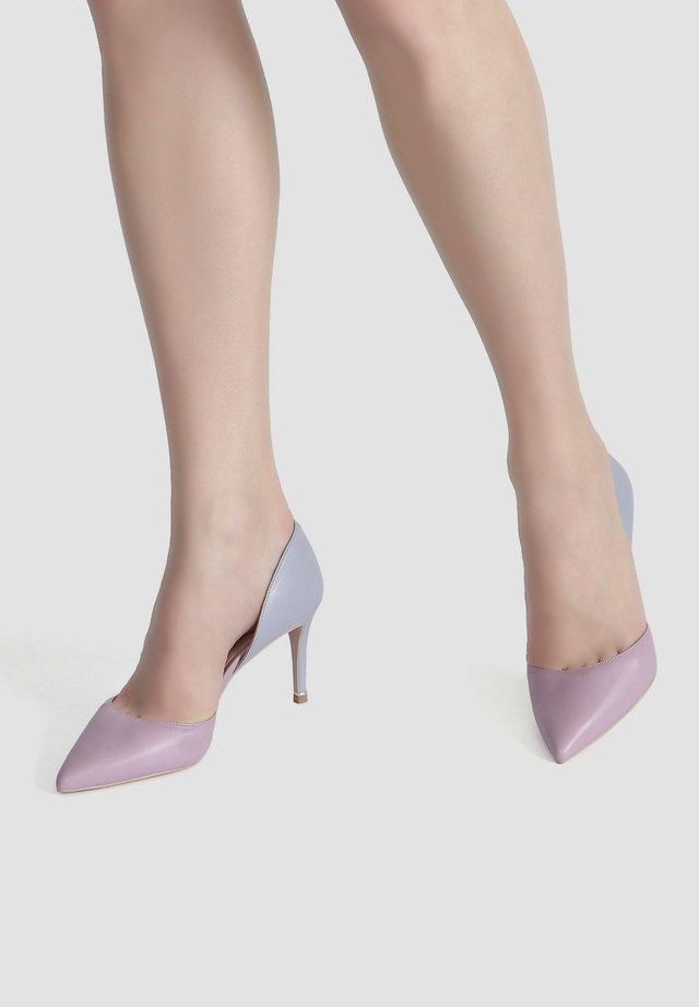 High heels - mauve-lilac gray