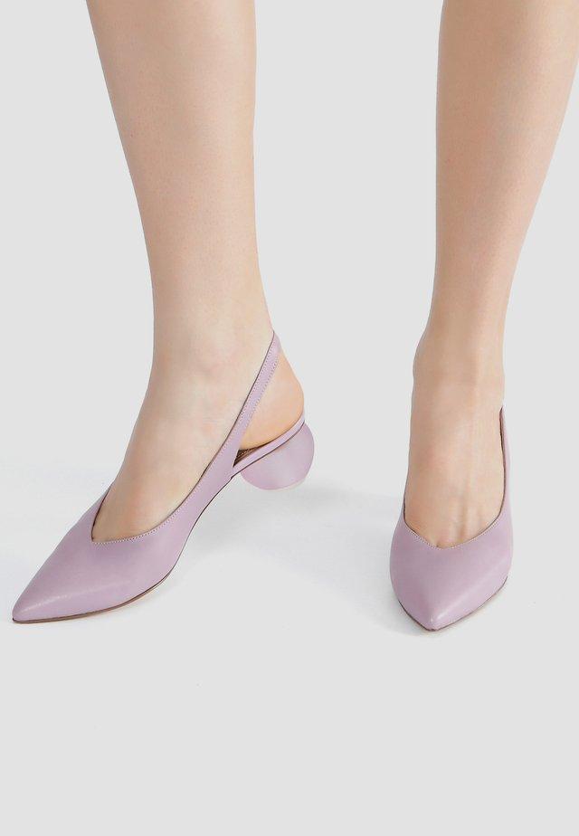 Classic heels - mauve