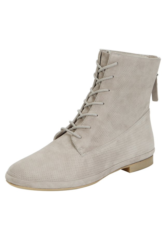 Lace-up ankle boots - ash grey