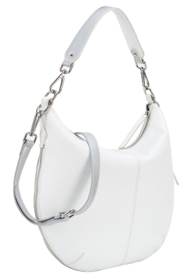 Shopper - weiß-silbern