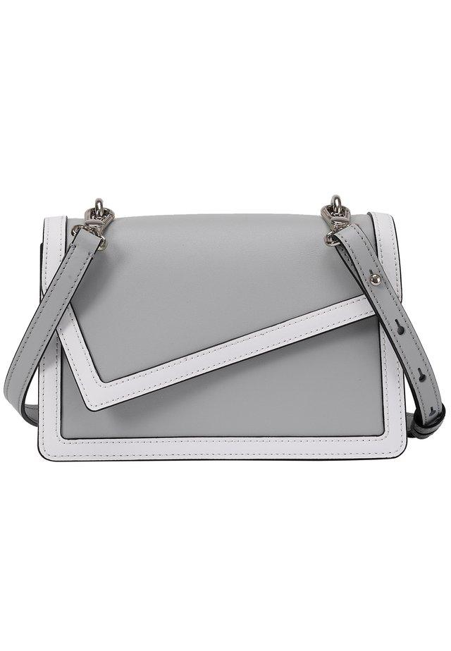 Handbag - grau-weiß