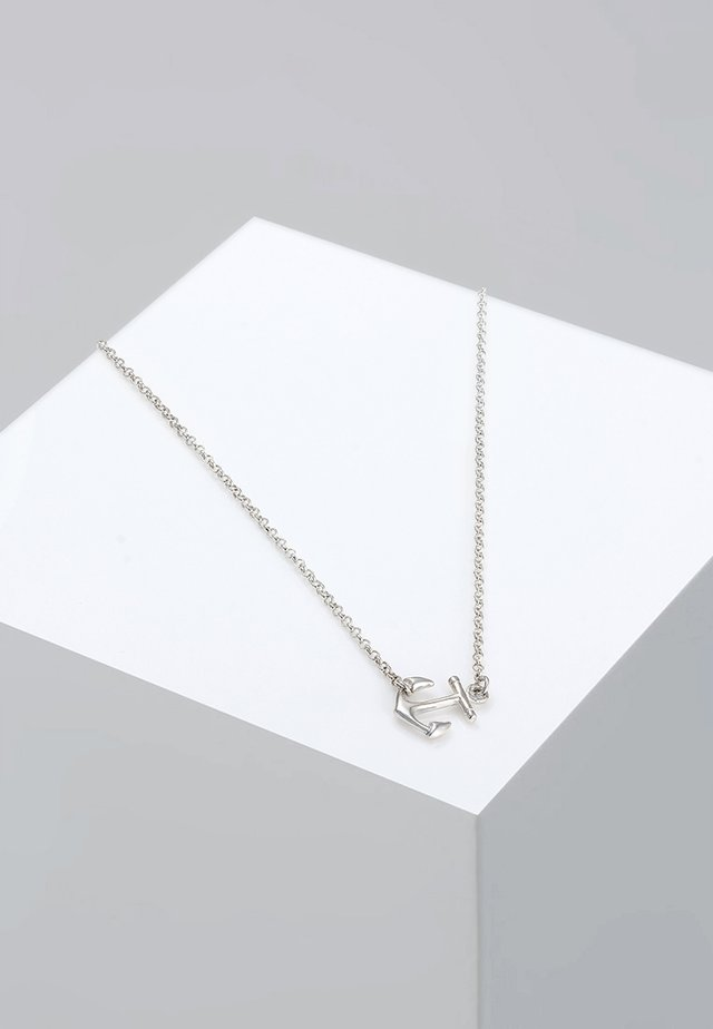 ANKER - Necklace - silver-coloured