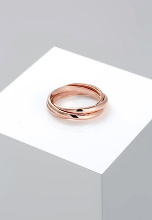 TRIO BASIC - Ringar - rosegold-coloured