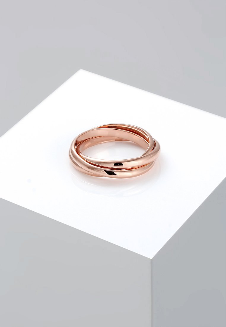Elli - TRIO BASIC - Ring - rosegold-coloured