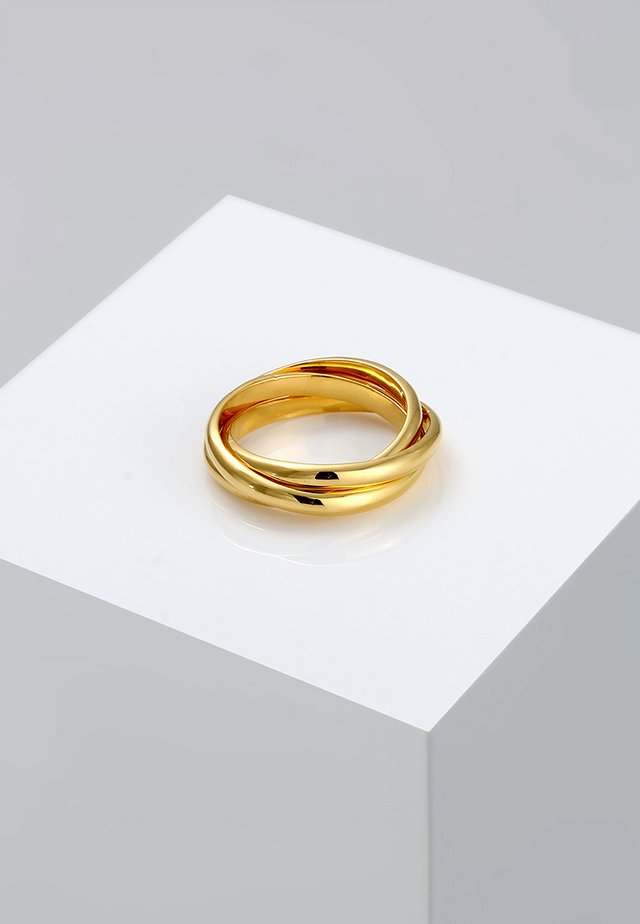 TRIO BASIC - Ring - gold-coloured