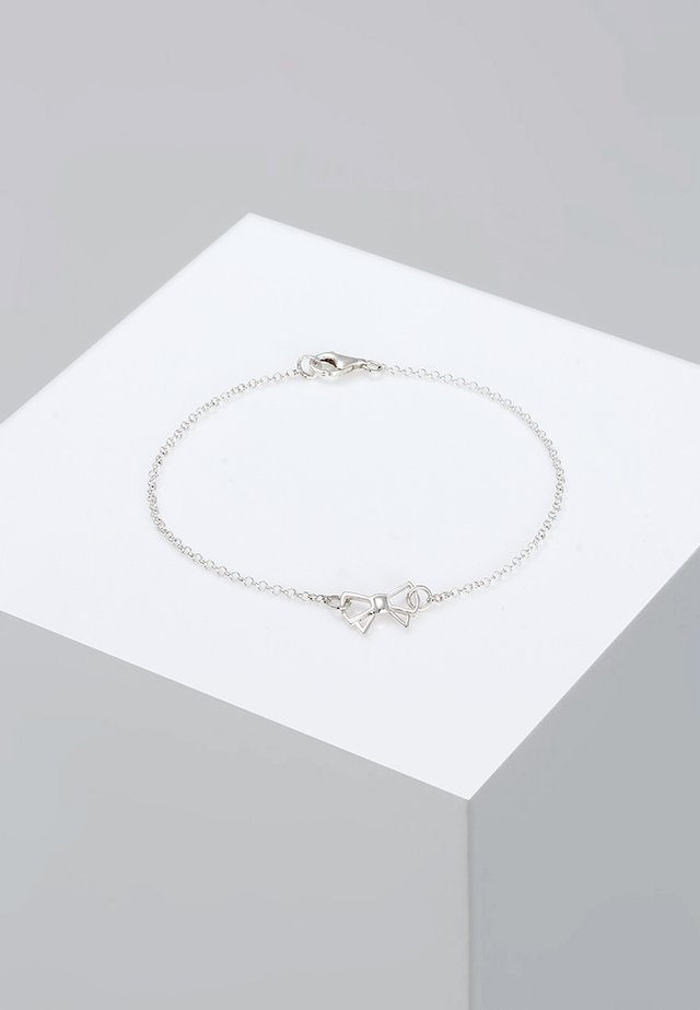 SCHLEIFE - Armbånd - silver-coloured