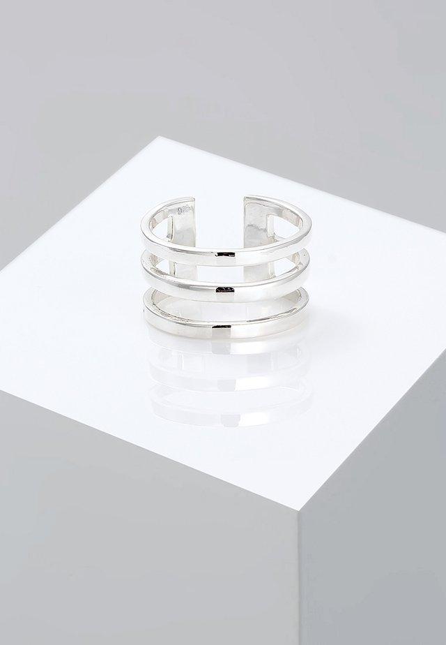 RING SILBER - Ring - silberfarben