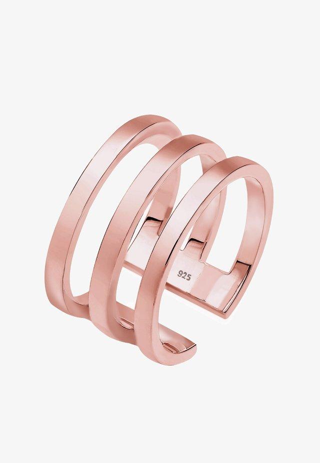 RING SILBER - Ring - roségold