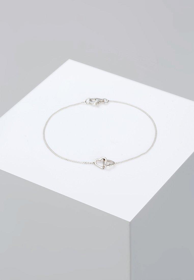 Elli - HERZ - Bracciale - silver-coloured