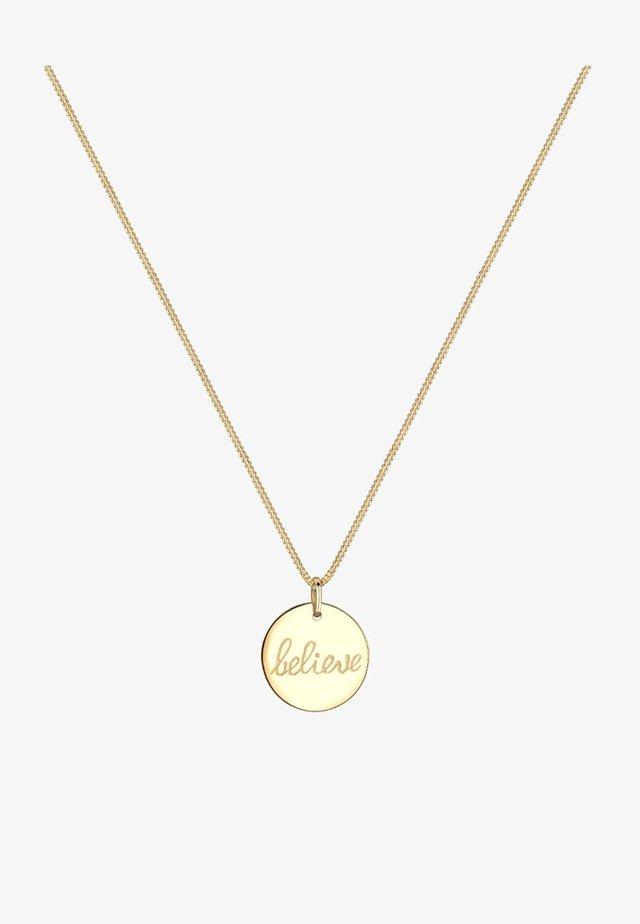 BELIEVE - Collana - goldfarben