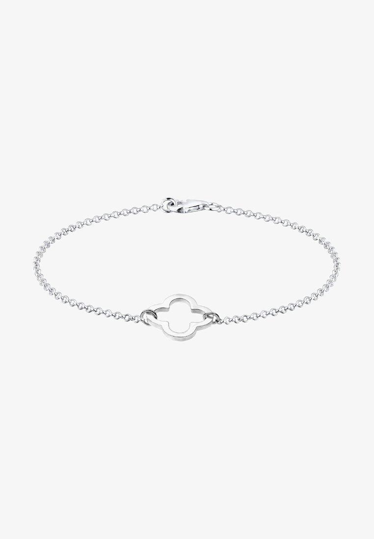 Elli - KLEEBLATT - Armband - silver-coloured