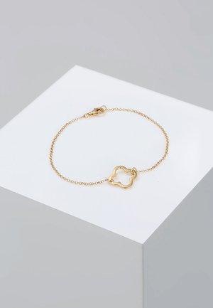 KLEEBLATT - Armband - gold-coloured