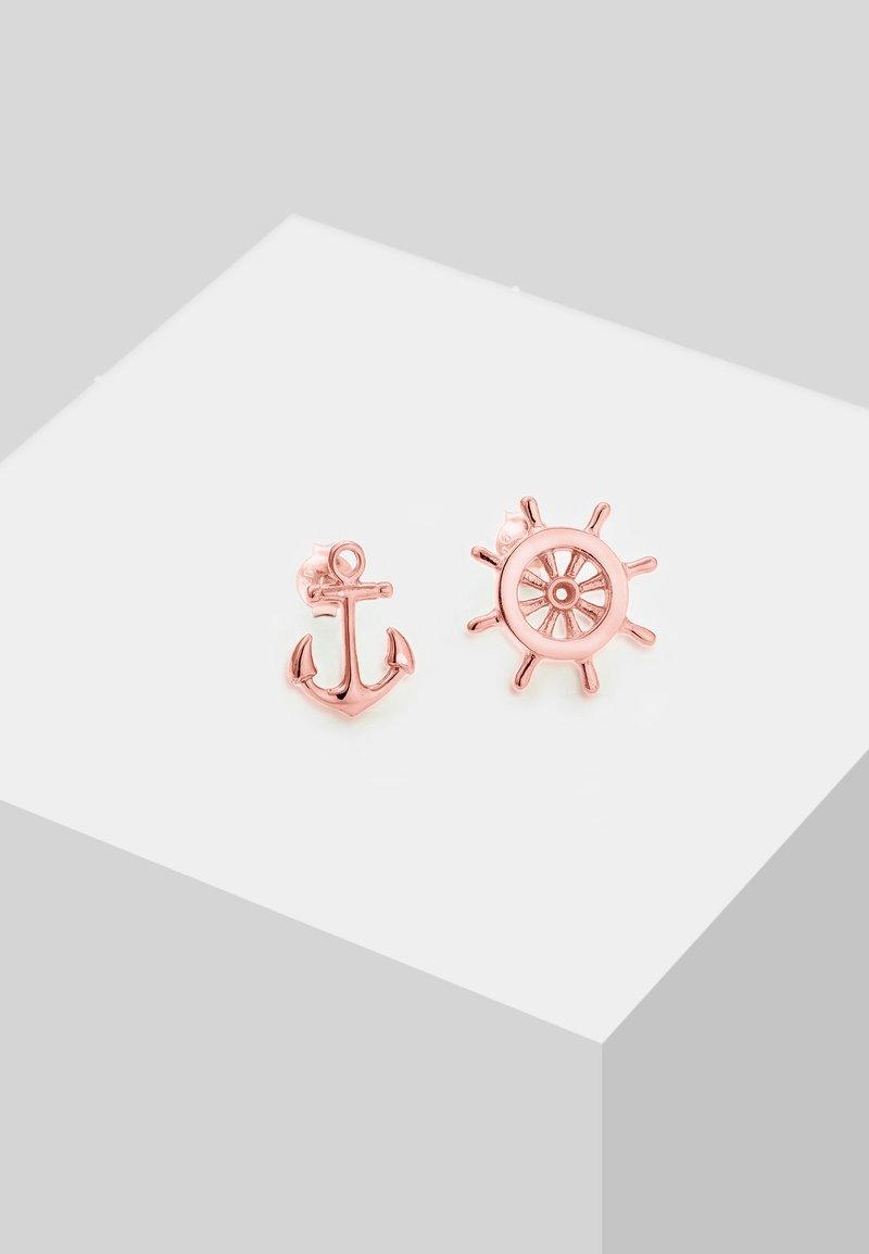 Elli - ANKER - Boucles d'oreilles - rose gold-coloured