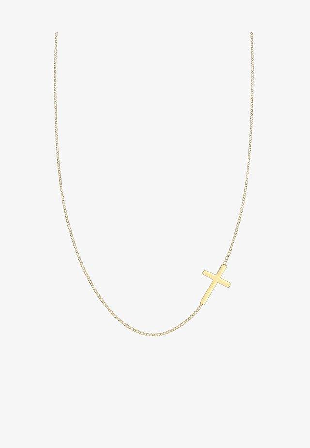 KREUZ  - Necklace - goldfarben