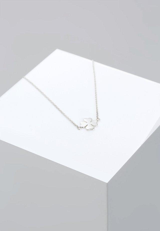 KLEEBLATT - Necklace - silberfarben