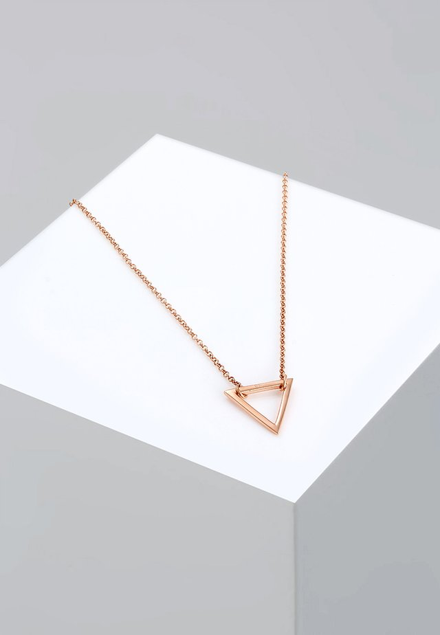 DREIECK - Ketting - roségold-coloured