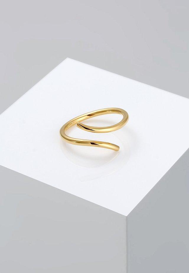STATEMENT - Pierścionek - gold