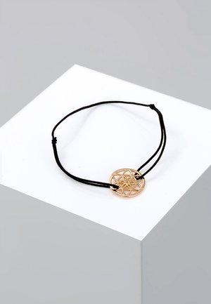 ORNAMENT - Bracelet - roségold-coloured/black