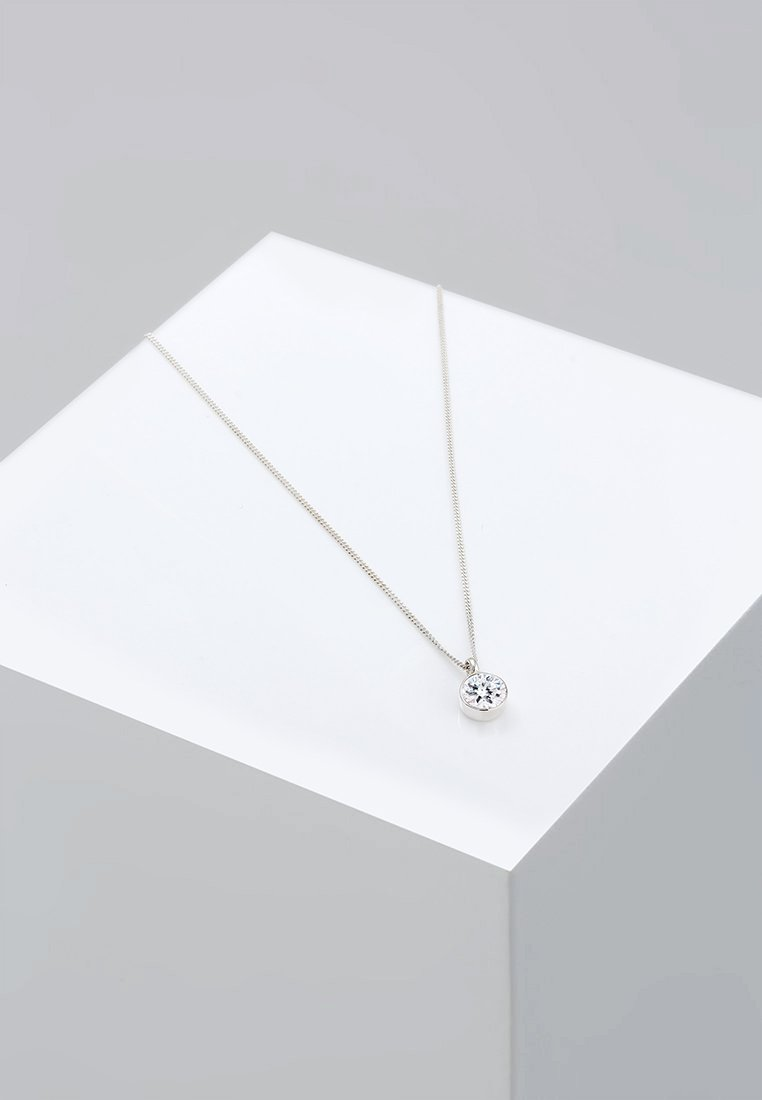 Elli - BASIC SOLITÄR - Ketting - silver-coloured
