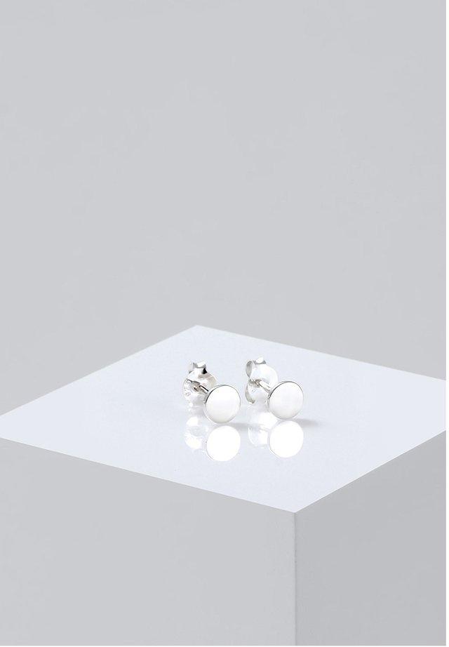 PLÄTTCHEN - Ohrringe - silver-coloured