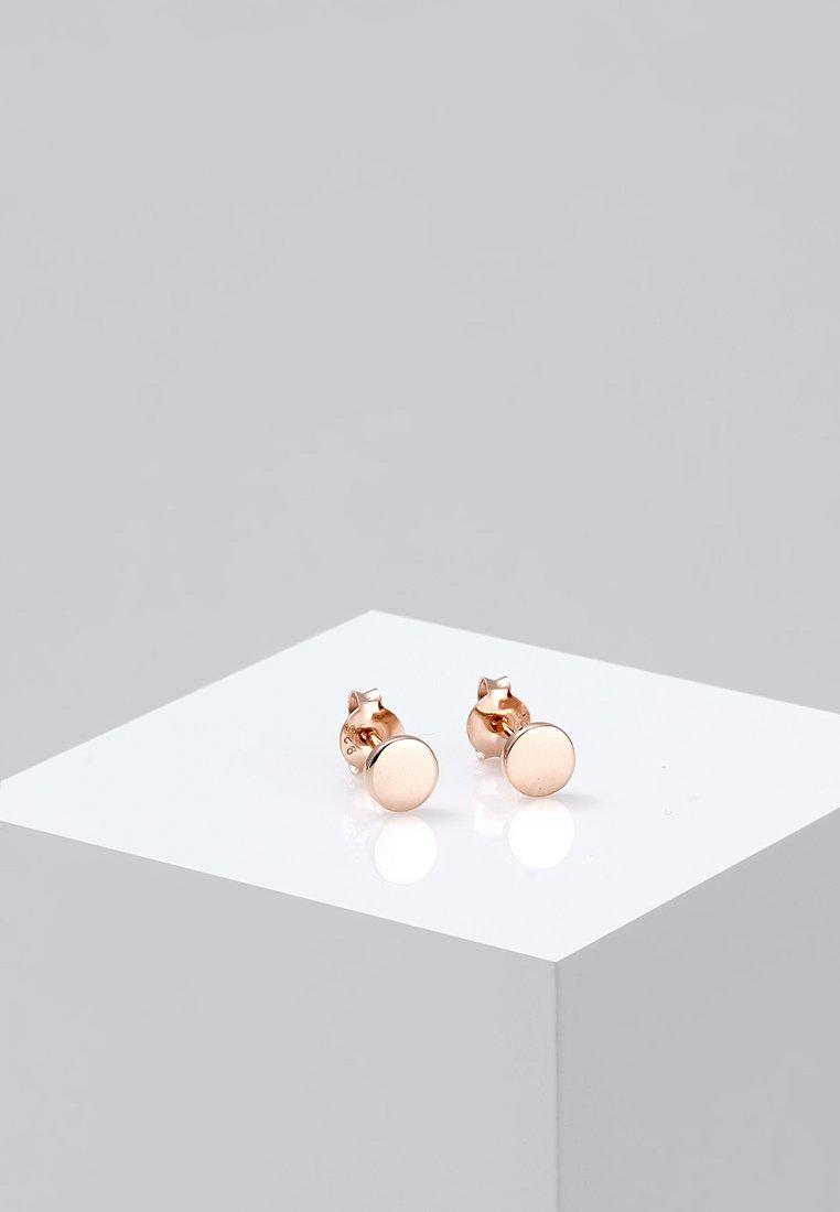 Elli - PLÄTTCHEN - Earrings - roségold-coloured
