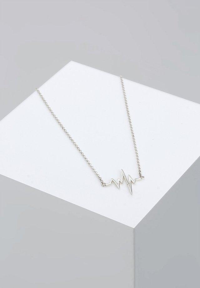HERZSCHLAG - Collier - silver-coloured