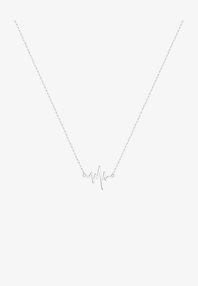 HERZSCHLAG - Necklace - silver-coloured