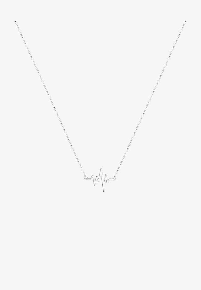 HERZSCHLAG - Halsband - silver-coloured