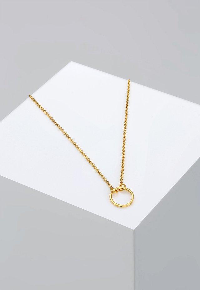 CHOKER - Collier - goldfarben