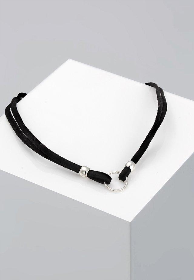 CHOKER - Halskette - schwarz