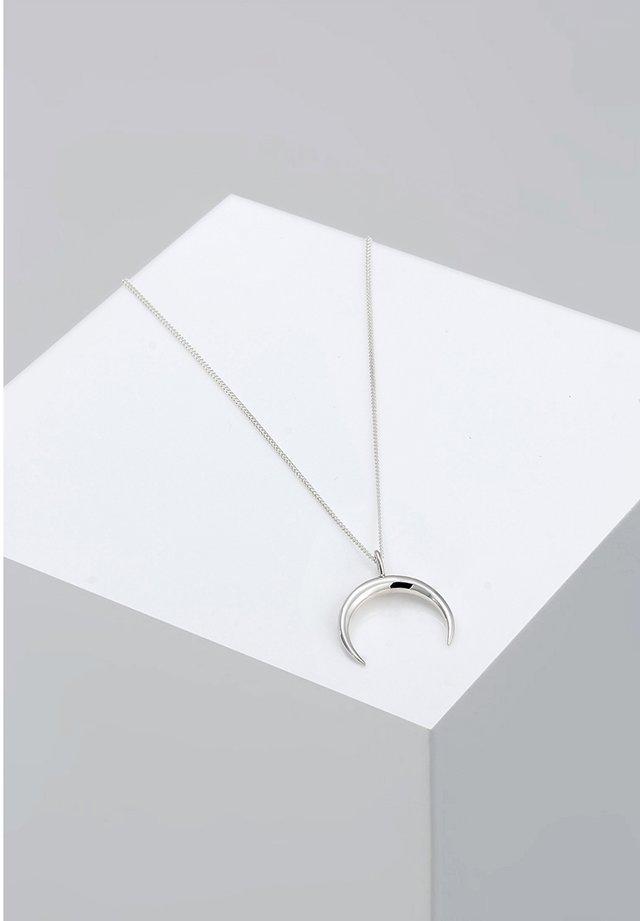 MOND - Halsband - silver-coloured
