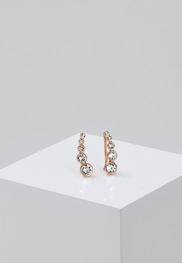 EARCUFF - Oorbellen - roségold-coloured