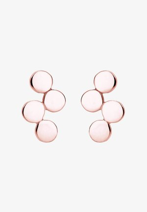 WELLEN - Boucles d'oreilles - roségold-coloured