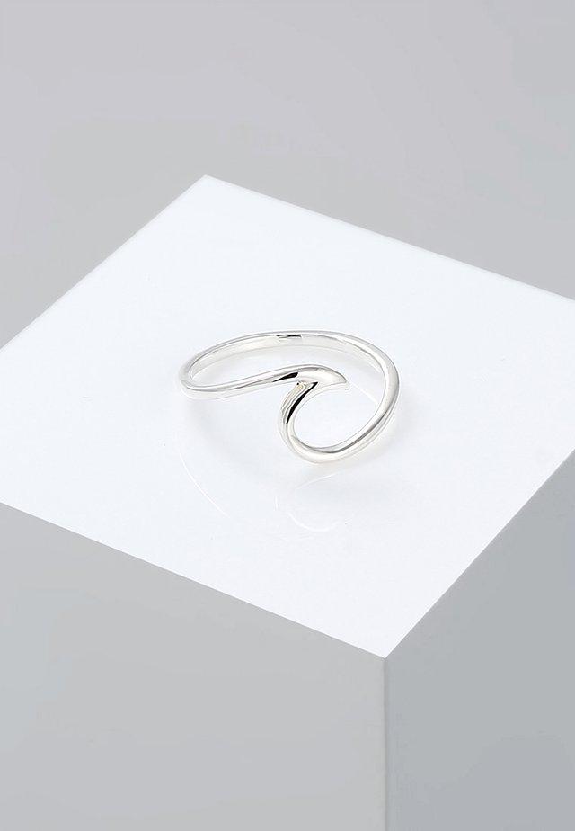 WELLEN - Ringe - silver-coloured