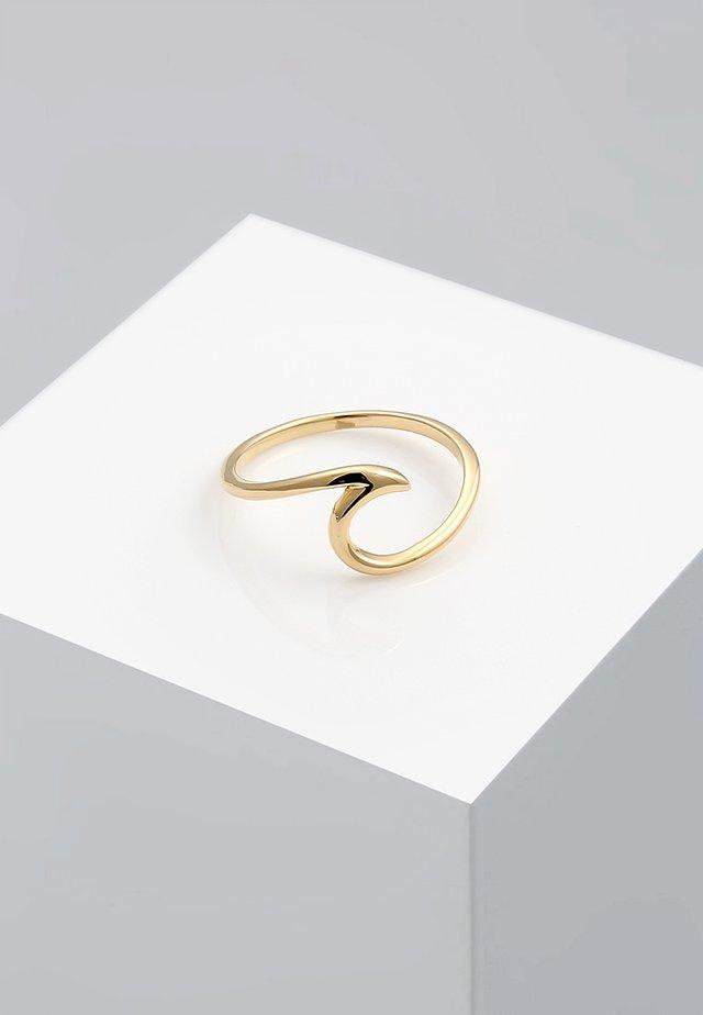 WELLEN - Ringe - gold-coloured