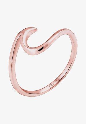 WELLEN - Ring - rosegold-coloured
